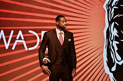 Oct. 11, 2012 - Oct 10, 2012; Beijing, CHINA; Chinese shoe brand Li-Ning announced Wednesday morning that it has officially signed Miami Heat guard Dwyane Wade. (Credit Image: © Osports/ZUMAPRESS.com)