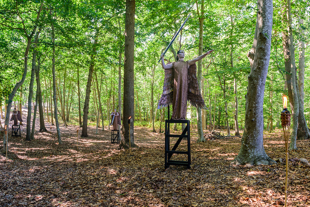 Water Mill Center, an artists retreat and exhibition space, Water Mill, NY