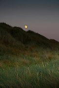 Perranporth moon