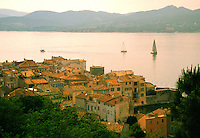 View of Harbour, St. Tropez France