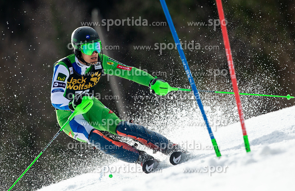 BOZIC Borut of Slovenia during the Audi FIS Alpine Ski World Cup Men's Slalom 58th Vitranc Cup 2019 on March 10, 2019 in Podkoren, Kranjska Gora, Slovenia. Photo by Matic Ritonja / Sportida