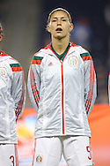 16 October 2014: Paulina Solis (MEX). The Mexico Women's National Team played the Costa Rica Women's National Team at Sporting Park in Kansas City, Kansas in a 2014 CONCACAF Women's Championship Group B game, which serves as a qualifying tournament for the 2015 FIFA Women's World Cup in Canada. Costa Rica won the game 1-0.