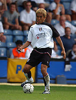 Junichi Inamoto (Fulham) Fulham v Real Mallorca, Pre-Season Friendly, 10/08/2003. Credit: Colorsport / Matthew Impey DIGITAL FILE ONLY