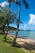 Beach in Noumea capital of New Caledonia, Melanesia, South Pacific