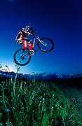Mountain biker Chico Hooke