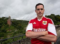 Greg Cunningham of Bristol City - Photo mandatory by-line: Kieran McManus/JMP - Tel: Mobile: 07966 386802 31/07/2013 - SPORT - FOOTBALL - Avon Gorge Hotel - Clifton Suspension bridge - Bristol -  Team Photo