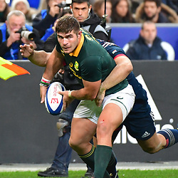 Malcolm Marx of South Africa during the test match between France and South Africa at Stade de France on November 18, 2017 in Paris, France. (Photo by Dave Winter/Icon Sport)
