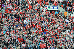 Bristol City fans - Photo mandatory by-line: Dougie Allward/JMP - Mobile: 07966 386802 - 22/03/2015 - SPORT - Football - London - Wembley Stadium - Bristol City v Walsall - Johnstone Paint Trophy Final