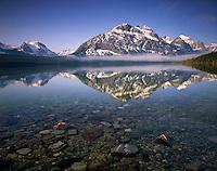 Saint Mary Lake, Glacier National Park Montana USA