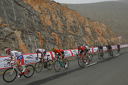 March 1, 2019 - Jebel Jais, United Arab Emirates - The Red Jersey, Primoz Roglic (3rd Left) of Slovenia and Team Jumbo - Visma, by Tom Dumoulin (Left) on his way to win the sixth Rak Properties Stage of UAE Tour 2019, a 180km with a start from Ajman and finish in Jebel Jais. .On Friday, March 1, 2019, in Jebel Jais, Ras Al Khaimah Emirate, United Arab Emirates. (Credit Image: © Artur Widak/NurPhoto via ZUMA Press)