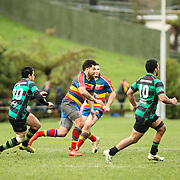 Premier  grade Rugby union match between Tawa v Wainiuomata  at  Lyndhurst Park, Tawa, Wellington, New Zealand on 30 July 2016. Game won 16-10 by Tawa.