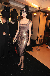 L'WREN SCOTT at the 2008 British Fashion Awards held at the Lawrence Hall, Westminster, London on 25th November 2008.