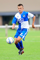 Bristol Rovers' U18s Camen Harvey  - Photo mandatory by-line: Dougie Allward/JMP - Tel: Mobile: 07966 386802 17/08/2013 - SPORT - FOOTBALL - Bristol Rovers Training Ground - Friends Life Sports Ground - Bristol - Academy - Under 18s - Youth - Bristol Rovers U18s V Bournemouth U18s