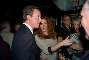 DAVID CAMERON; Rebekah Wade<br />