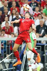 04.08.2015, Allianz Arena, Muenchen, GER, AUDI CUP, FC Bayern Muenchen vs AC Mailand, im Bild Robert Lewandowski (FC Bayern Muenchen #9) // during the 2015 AUDI Cup Match between FC Bayern Muenchen and AC Mailand at the Allianz Arena in Muenchen, Germany on 2015/08/04. EXPA Pictures © 2015, PhotoCredit: EXPA/ Eibner-Pressefoto/ Schüler<br /> <br /> *****ATTENTION - OUT of GER*****