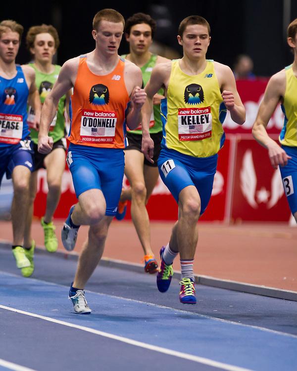 New Balance Indoor Grand Prix track meet: Junior Boys Mile, O'Donnell, Kelley