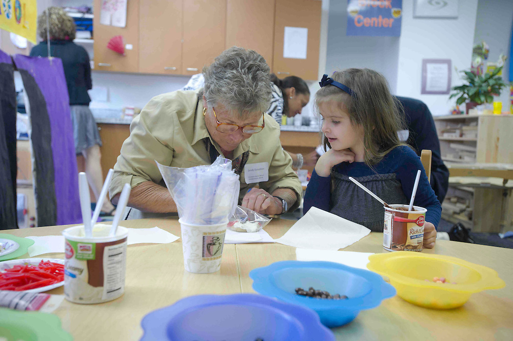 WASHINGTON (2010-2011) -- River School kids on grandparents day.  Photo by Johnny Bivera