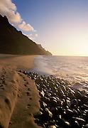 Kalalau, Napali Coast, Kauai, Hawaii<br />