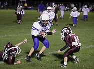 Middletown, NY - Middletown plays Chester in an Orange County Youth Football League Division 1 game at Watts Park in Middletown on Saturday, Sept. 19, 2009.