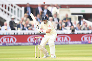 Joe Root (capt) of England on Day One of the NatWest Test Match match at Lord's, London<br /> Picture by Simon Dael/Focus Images Ltd 07866 555979<br /> 24/05/2018