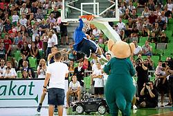 Marko Milic during basketball event Kosarkaska simfonija - last offical basketball match of Bostjan Nachbar and Sani Becirovic, on August 30, 2018 in Arena Stozice, Ljubljana, Slovenia. Photo by Urban Urbanc / Sportida