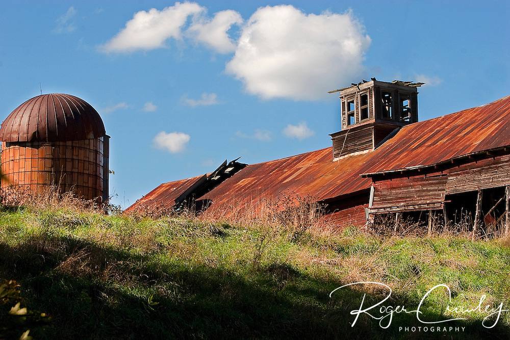 Roger Crowley / CrowleyPhotos.com..An old farm sits vacant in Northfield Vermont...