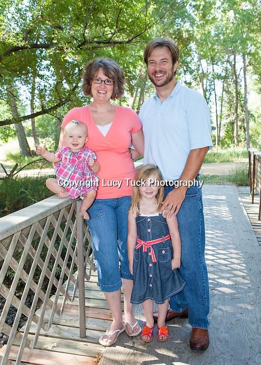 Family Portrait, Family Pictures on Bridge