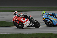 Sylvain Guintoli, Chris Vermeulen, Red Bull Indianapolis Moto GP, Indianapolis Motor Speedway, Indianapolis, Indiana, USA, 14, September 2008  08mgp14