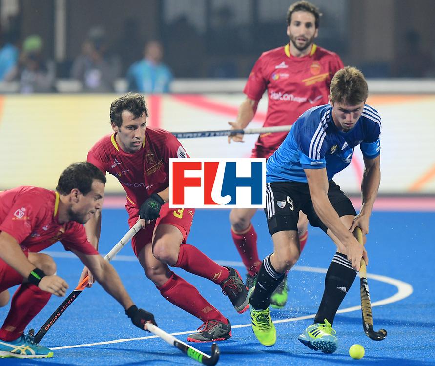 Odisha Men's Hockey World League Final Bhubaneswar 2017<br /> Match id:11<br /> Argentina v Spain<br /> Foto: Maico Casella (Arg) <br /> COPYRIGHT WORLDSPORTPICS FRANK UIJLENBROEK