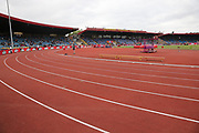 The stands begin to fill at the Muller Grand Prix at Alexander Stadium, Birmingham, United Kingdom on 18 August 2018. Picture by Ian Stephen.