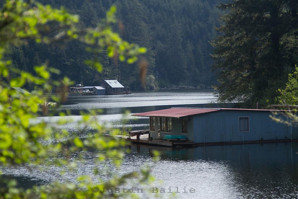 Coastal Lakes in southern Oregon.