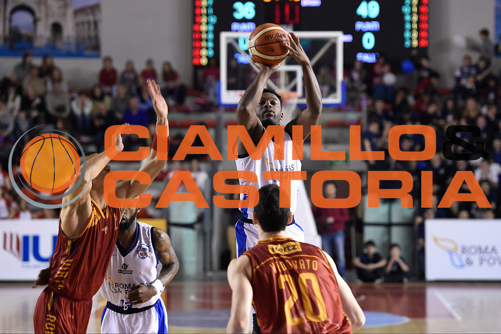 Michael Brandon Deloach<br /> Roma Gas &amp; Power Roma - Unicusano Roma<br /> Campionato Basket LNP 2016/2017<br /> Roma 12/03/2017<br /> Foto Ciamillo-Castoria