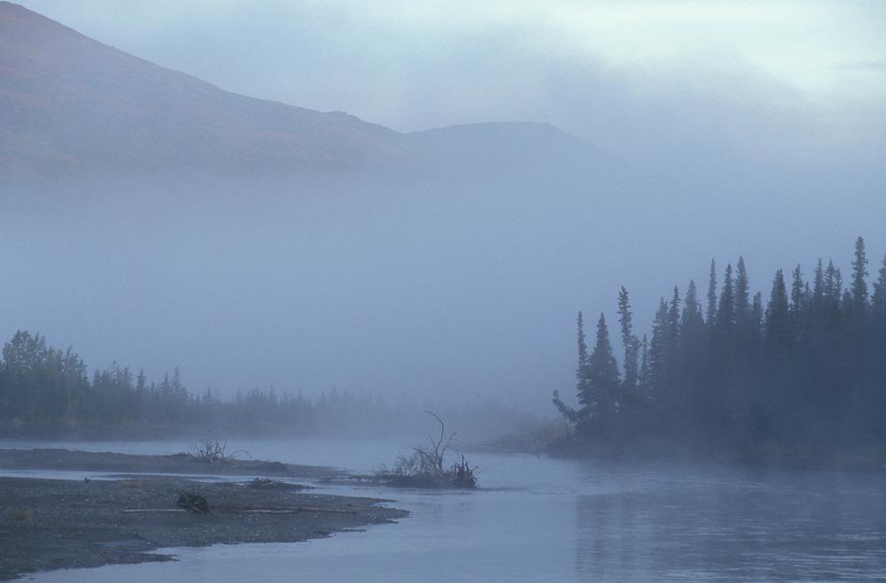 Nenana River near Cantwell, Alaska, USA