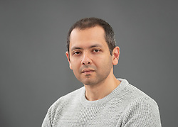 Edinburgh, Scotland, UK; 17 August, 2018. Pictured; Author  Omar Al Akkad. Author of American War and selected author as part of the University of Edinburgh our Massive Open Online Course on How to Read a Novel.