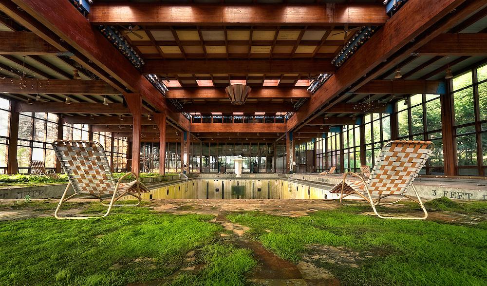 Grossinger's Abandoned Resort Liberty NY Catskills New York.