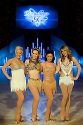 Dancing on Ice Photocall Sheffield Motorpoint Arena .Denise Welch, Laura Hamilton, Hayley Tamaddon and Chloe Madeley.7 April 2011.Images © Paul David Drabble