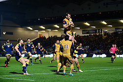 Giorgi Nemsadze of Bristol Rugby - Mandatory by-line: Dougie Allward/JMP - 04/11/2016 - RUGBY - Sixways Stadium - Worcester, England - Worcester Warriors v Bristol Rugby - Anglo Welsh Cup