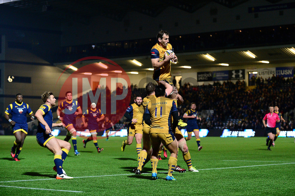 Giorgi Nemsadze of Bristol Rugby - Mandatory by-line: Dougie Allward/JMP - 04/11/2016 - RUGBY - Sixways Stadium - Worcester, England - Worcester Warriors v Bristol Rugby - Anglo Welsh Cup
