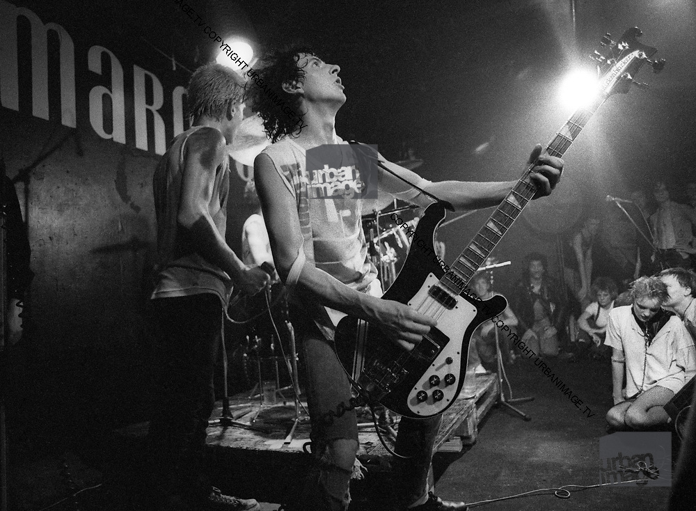 Generation X in Concert - The Marquee Club London 1977