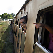 "The train from Nairobi to Mombasa. Also known as the ""Lunatic Express"", It was the railway line that built Kenya, linking the port town of Mombasa through the capital, Nairobi, to the shores of Lake Victoria and on to the Ugandan capital, Kampala. It cost $5m (in 1894 money) and countless workers died during its construction. There were derailments, collisions, tribal raids and attacks by lions. Yet despite becoming one of Kenya's national treasures and a vital economic artery for east Africa, the railway now lies in a state of disrepair. A South African consortium has taken it over and plans to invest millions, returning it to its former glory. But there has been a row over the railway's financing which may yet derail the .project. .."