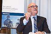 Lancement du livre de Michel Dumas : Les cabinets de relations publiques 141015