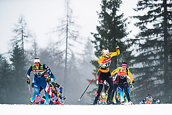 Laura Gimmler (GER), Julia Kern (USA) during Ladies team sprint race at FIS Cross Country World Cup Planica 2019, on December 22, 2019 at Planica, Slovenia. Photo By Peter Podobnik / Sportida