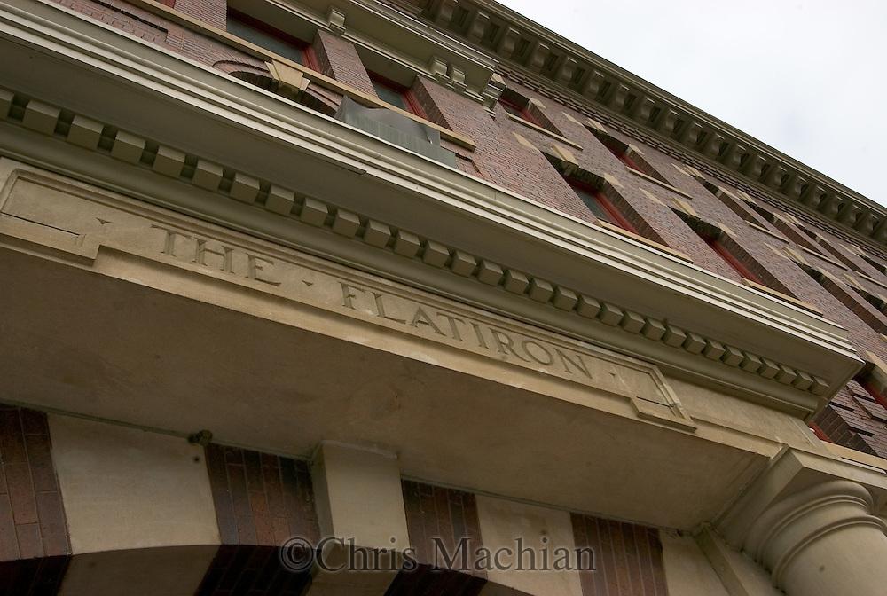 2/5/07 -- Omaha, NE The Flatiron building in Downtown Omaha..Photo by Chris Machian/Omaha Magazine