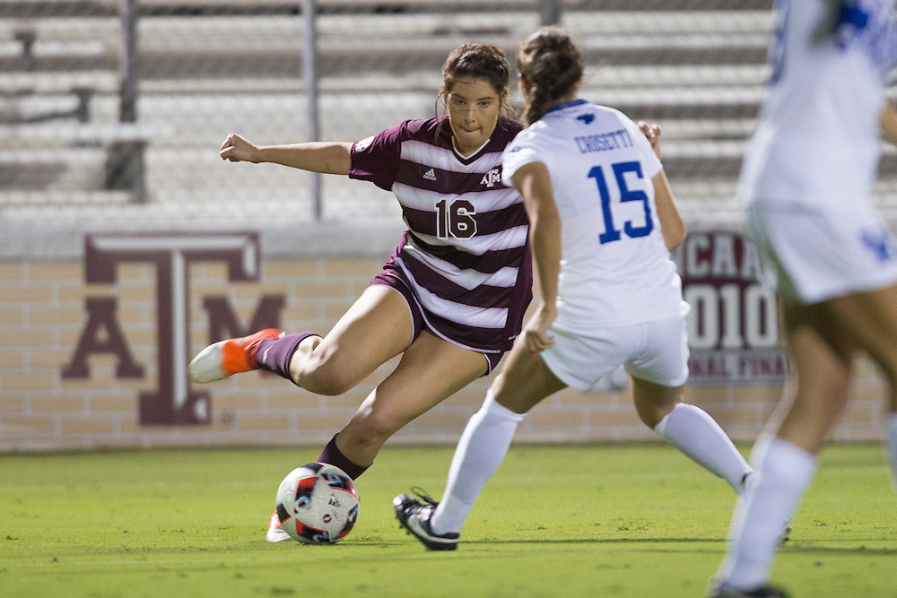 Kentucky vs. Texas A&M NCAA college soccer game Thursday, Oct. 20, 2016 in College Station, Texas.