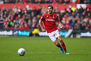Yuri Ribeiro of Nottingham Forest during the EFL Sky Bet Championship match between Nottingham Forest and Derby County at the City Ground, Nottingham, England on 9 November 2019.