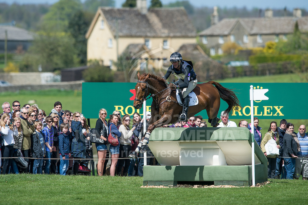 Mark Todd (NZL) & Major Milestone - Fence 29, Rolex Crossing - XC - Mitsubishi Motors Badminton Horse Trials - CCI4* - Badminton, Gloucestershire, United Kingdom - 05 May 2013