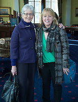 free pic no repro fee     GMC20012017 <br /> Joanne Mulcahy Blackrock and Catherine Cummins The Lough  Pictured at the Port of Cork, for the launch of Meitheal Mara&rsquo;s ambitious plans for the realisation  of an integrated maritime hub for Cork City. www.meithealmara.ie<br /> Images By Gerard McCarthy 087 8537228 <br /> For more info contact  Joya Kuin  0857770969  joyakuin@gmail.com