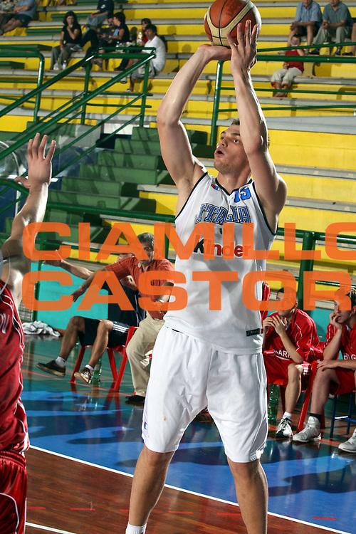 DESCRIZIONE : San Benedetto del Tronto Torneo Internazionale Under 20<br />GIOCATORE : Lechtaler<br />SQUADRA : Italy Italia<br />EVENTO : San Benedetto del Tronto Torneo Internazionale Under 20<br />GARA : Italia Bulgaria<br />DATA : 08/07/2006 <br />CATEGORIA : Tiro<br />SPORT : Pallacanestro <br />AUTORE : Agenzia Ciamillo-Castoria/G.Ciamillo