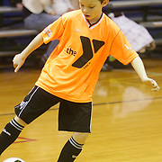 Jared Blaylock dribbles Sunday January 18, 2015 at the Wilmington Family YMCA. (Jason A. Frizzelle)