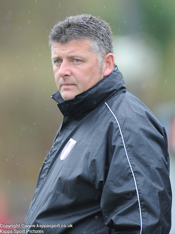 Darren Foster, Manager Daventry Town, Kettering Town v Daventry Town Southern League Division One Central, 25th August 2014